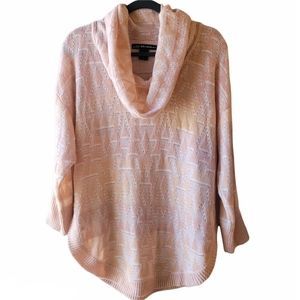United States Sweaters Pink Cowl Neck Sweater L